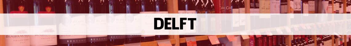 wijn bestellen en bezorgen Delft